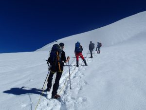 výstup na Mont Blanc