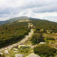 Pohled z Dívčích kamenů na Vysoké kolo