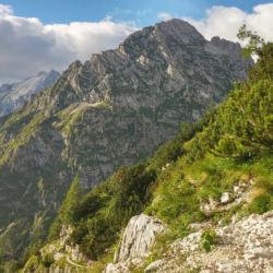 Horská cesta na Triglav
