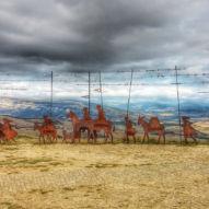 Alto del Perdón - místo, kde se cesta větru potkává s cestou hvězd