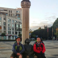 Můj nejlepší Camino friend Mike z Austrálie.