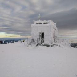 Česká poštovna na Sněžce má otevřeno i 1. ledna.